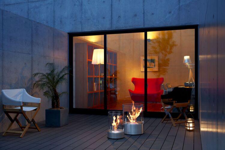 Cheminée à l'éthanol : Bloc de combustion mécanique EcoSmart Fire Glow