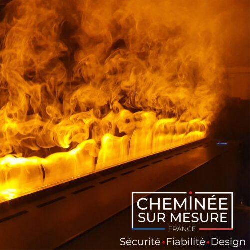 Cheminée à vapeur d'eau : VB-3D 1500