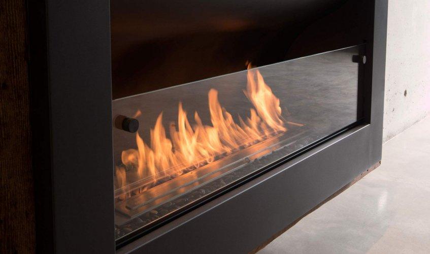 Cheminée à l'éthanol : Bloc de combustion mécanique EcoSmart Fire Firebox 1100CV