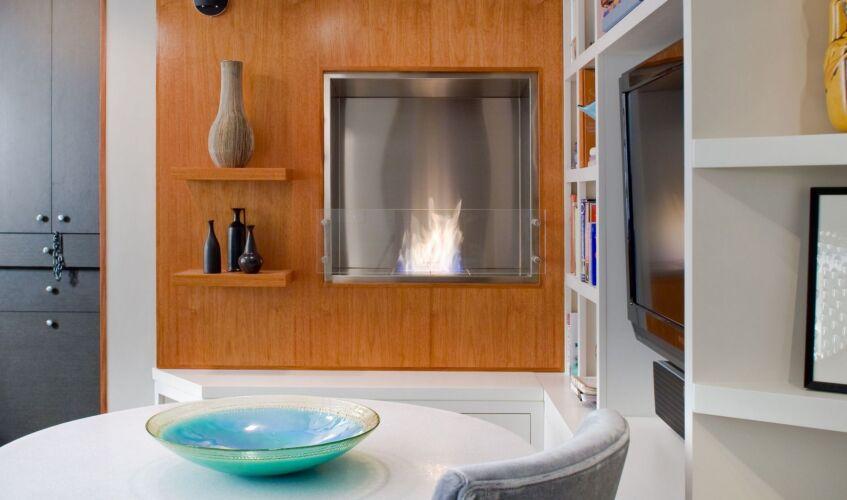 Cheminée à l'éthanol : Bloc de combustion mécanique EcoSmart Fire Firebox 650SS