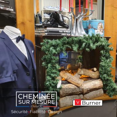 Cheminée sur Mesure France - vBurner